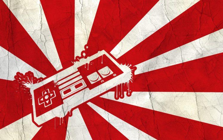Nintendo, Minimalism HD Wallpaper Desktop Background