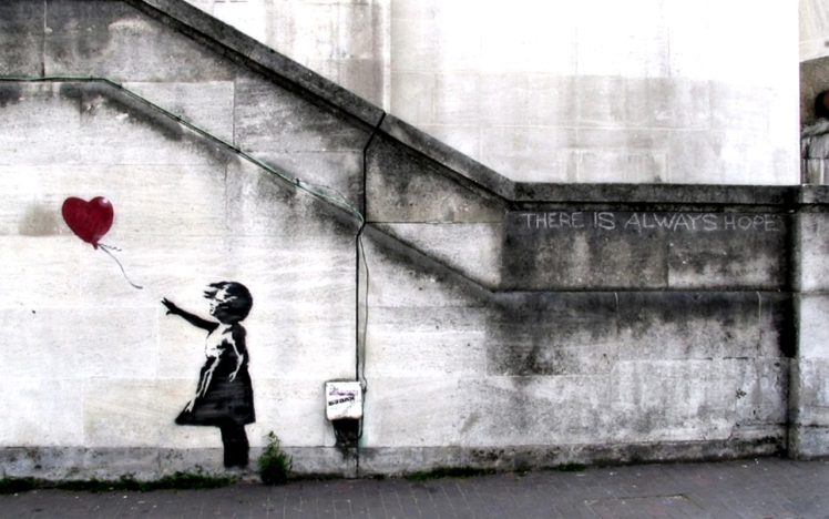 Banksy HD Wallpaper Desktop Background