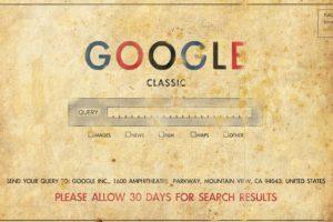 Google, Old, Old paper