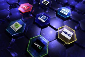 AMD, Nvidia, Intel, ASUS