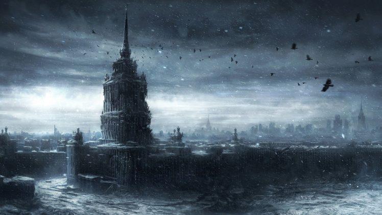 apocalyptic, City HD Wallpaper Desktop Background