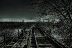 railway, Dark