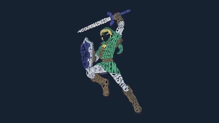 The Legend Of Zelda Link Triforce HD Wallpaper Desktop Background