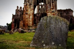 Scotland, Closeup, Church, Graveyards, UK, Jedburgh, Melrose, Abbey