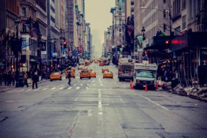 New York City, USA, City, Road