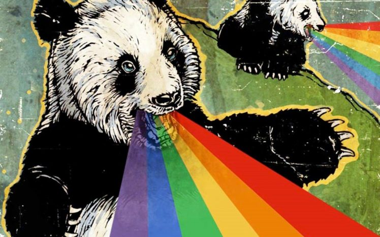 rainbows, Adobe Photoshop HD Wallpaper Desktop Background