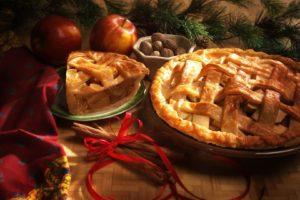 food, Desserts, Pies, Apples, Ribbon