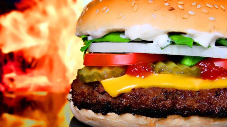 food, Burgers, Closeup HD Wallpaper Desktop Background