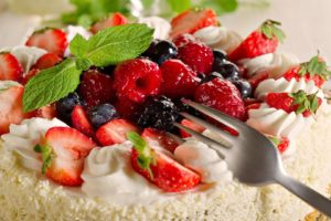 food, Desserts, Cakes, Cutlery