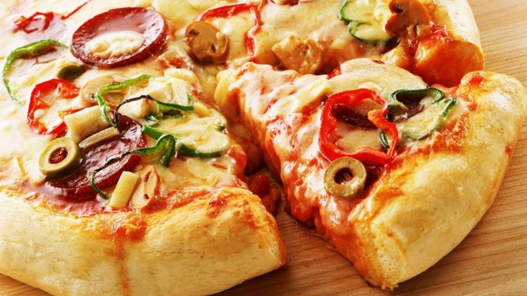Food Pizza HD Wallpaper Desktop Background
