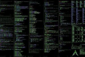 Linux, Arch Linux, Unix, Unixporn, Command lines