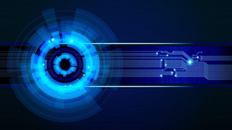 technology, Blue HD Wallpaper Desktop Background