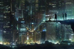 city, Skyscraper