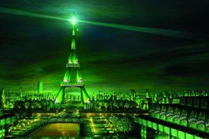 Paris, Heineken, City, Beer, Green