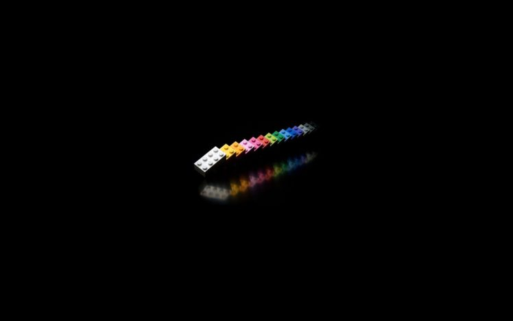 black, LEGO, Bricks, Minimalism, Toys HD Wallpaper Desktop Background