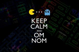 Keep Calm and…, Pacman, Inky