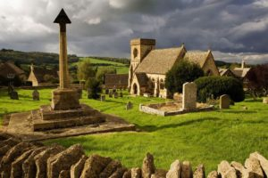 graveyards, Architecture, Church, England, UK