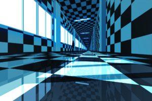 building, Blue