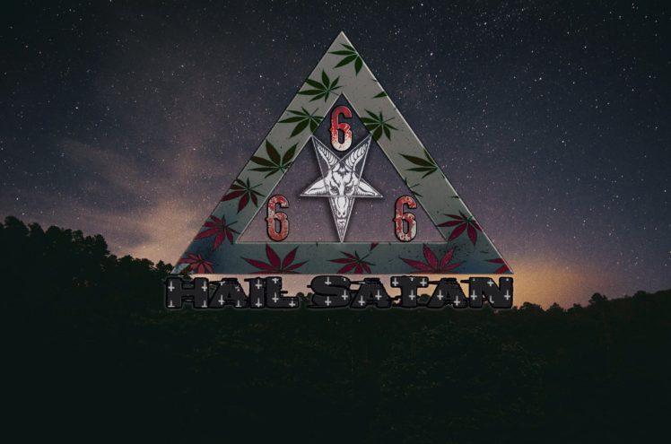 Satanic Baphomet Satan Hd Wallpapers Desktop And Mobile