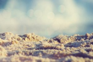 depth of field, Sand