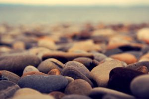 depth of field, Stones, Elementary OS