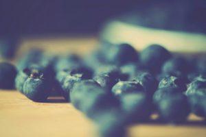 depth of field, Berries