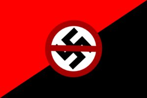 red, Black, Swastika