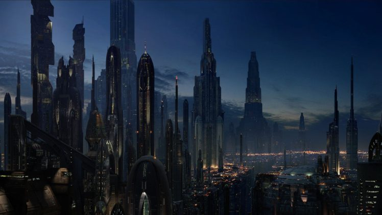 cityscape, Futuristic HD Wallpaper Desktop Background