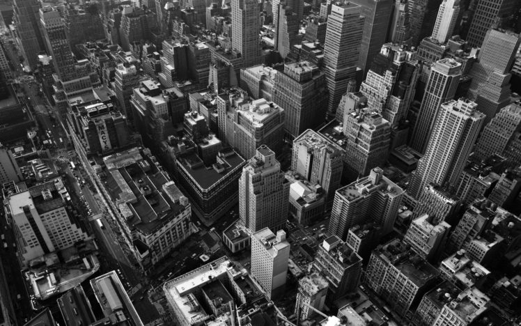 cityscape, Monochrome, Building HD Wallpaper Desktop Background