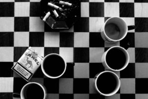 coffee, Cigarettes