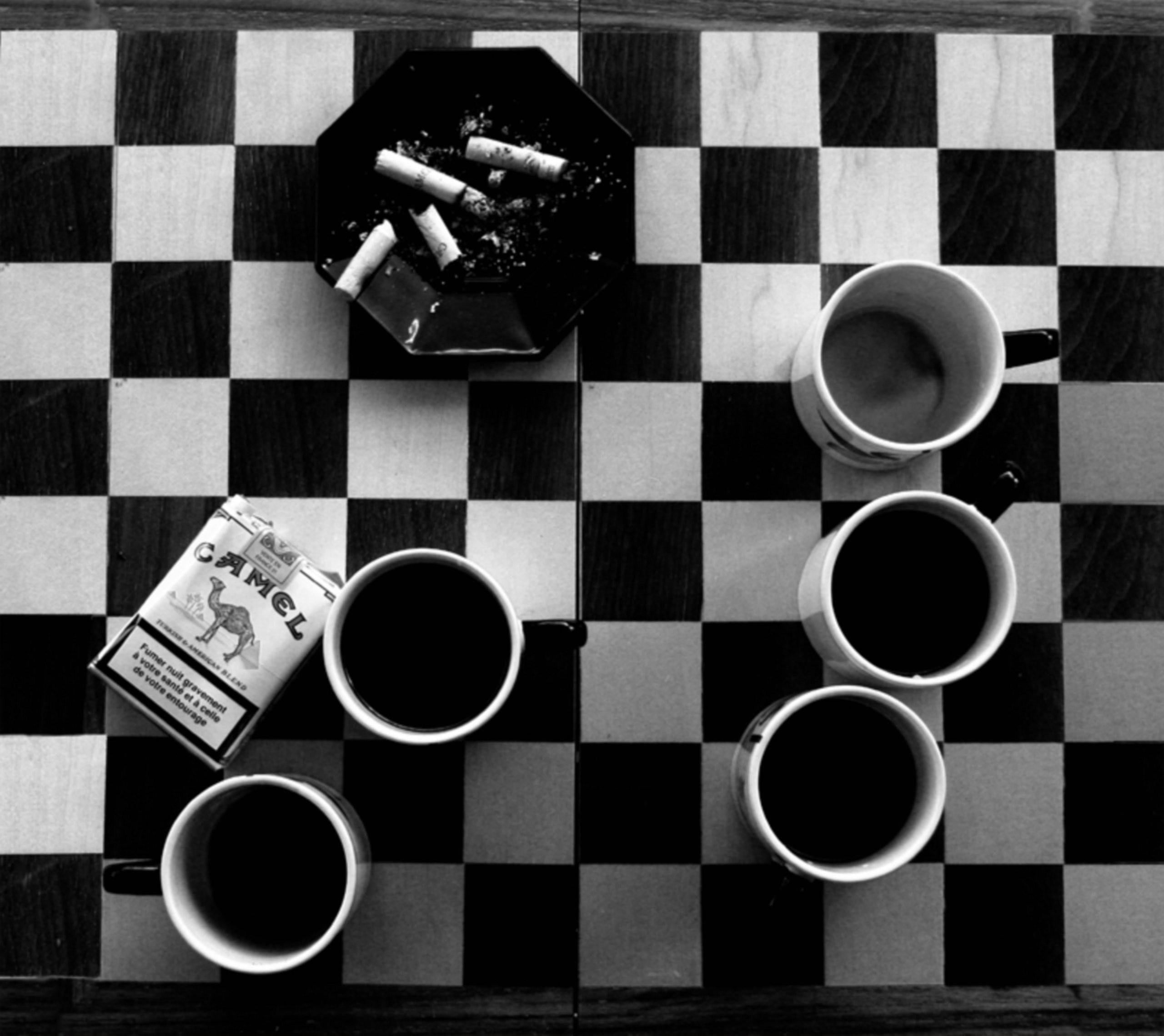 coffee, Cigarettes Wallpaper