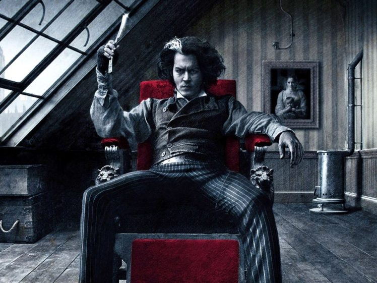 Sweeney Todd The Demon Barber Of Fleet Street Johnny Depp