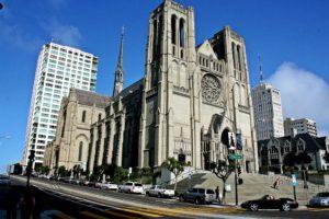church, San Francisco, Praying, Cityscape, Street, USA