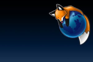 Mozilla Firefox, Simple background, Fox, Stupid fox