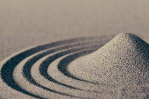 circle, Sand