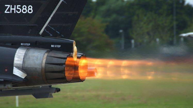Aircraft Jets Engine Exhaust HD Wallpaper Desktop Background