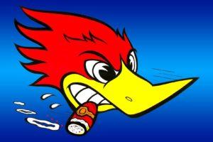 woodpeckers, Cartoon