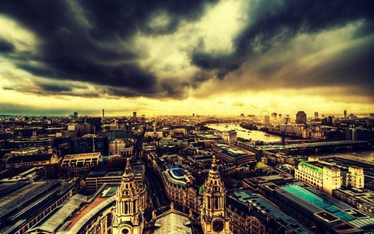 city, Cityscape, London, England HD Wallpaper Desktop Background