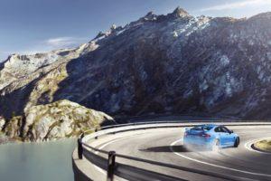 Jaguar XFR S, Drift, Mountain