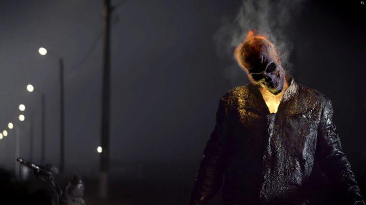 Skull Ghost Rider HD Wallpaper Desktop Background