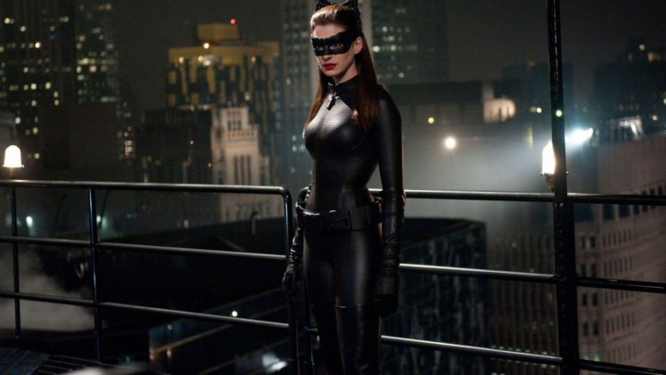 Anne Hathaway, Catwoman, Selina Kyle HD Wallpaper Desktop Background