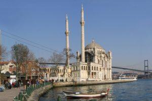 Turkey, Mosques, Bridge, Istanbul, Ortaköy Mosque