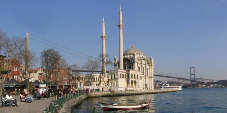 Turkey, Mosques, Bridge, Istanbul, Ortaköy Mosque HD Wallpaper Desktop Background