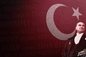 Mustafa Kemal Atatürk, Flag