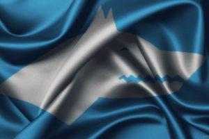 Turkish, Gokturk, Flag