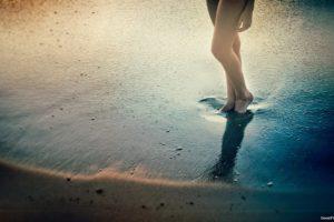 legs, Sand