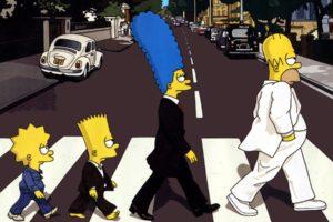 The Simpsons, Homer Simpson, Marge Simpson, Bart Simpson, Lisa Simpson