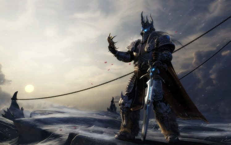 Arthas Lich King Hd Wallpapers Desktop And Mobile Images