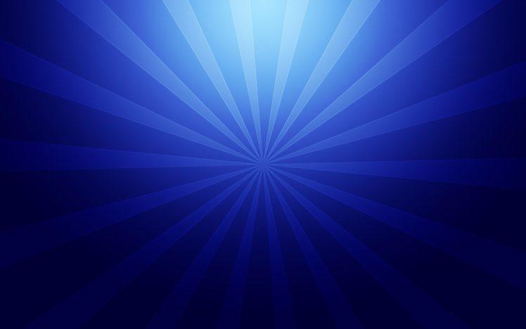 Radial, Blue HD Wallpaper Desktop Background