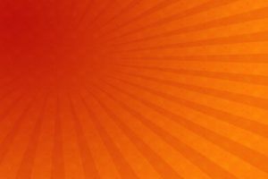 Radial, Orange, Red